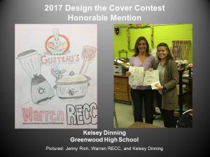 Design the Cover Contest Honorable Mention Kelsey Dinning of Greenwood H.S.