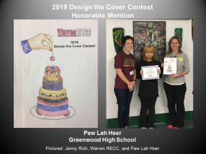 2018 Design the Cover honorable mention, Paw Lah Hser
