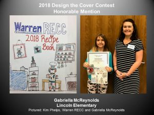 2018 Design the Cover Contest honorable mention, Gabriella McReynolds