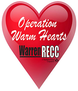 Operation warm hearts logo